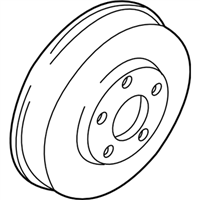 Subaru Outback Brake Drum - 26340AA010