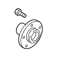 Subaru Wheel Bearing - 28373AG01A