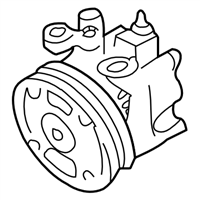 Subaru Impreza STI Power Steering Pump - 34430FE050