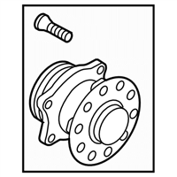 Subaru Wheel Bearing - 28473FJ020