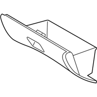 Subaru Glove Box - 66129SA050ND