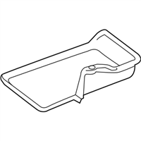 Subaru Battery Tray - 82122AL00A