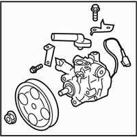 Subaru Legacy Power Steering Pump - 34430AJ021