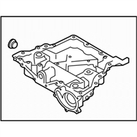 Subaru BRZ Oil Pan - 11120AA170
