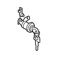 Subaru Impreza Door Lock Cylinder