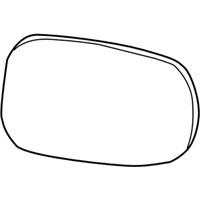 Subaru Baja Car Mirror - 91032AE25A