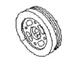 Subaru Crankshaft Pulley - 12305AA242