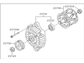 Subaru Legacy Alternator - 23700AA37A