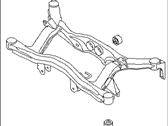 Subaru Rear Crossmember - 20152AE00A