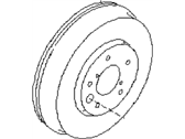 Subaru Outback Brake Drum - 26740AE00A
