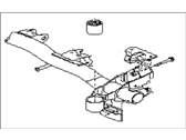 Subaru GL Series Rear Crossmember - 21072GA760