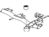 Subaru GL Series Rear Crossmember - 21072GA751