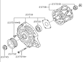 2015 Subaru Legacy Alternator - 23700AA930