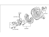 Subaru Outback Alternator Case Kit - 23727AA430