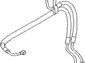 Subaru Impreza Power Steering Hose