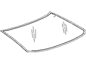 Subaru SVX Windshield - 65001PA050