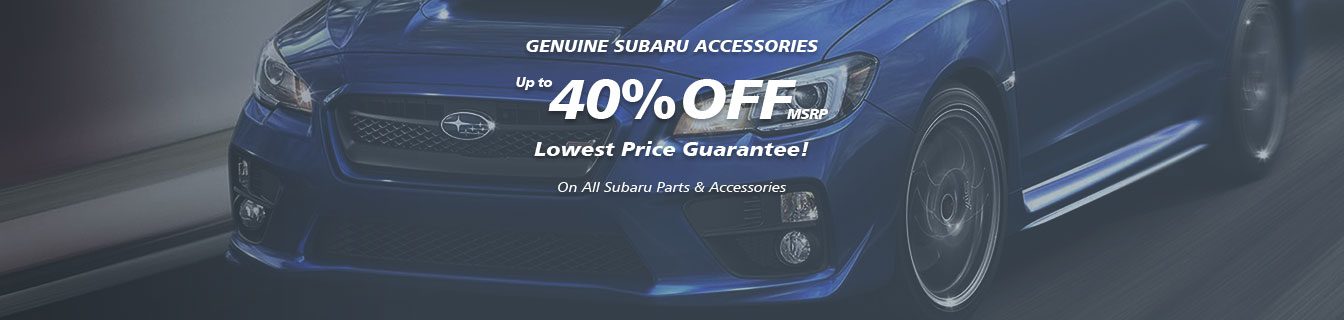 Genuine WRX STI accessories, Guaranteed lowest prices