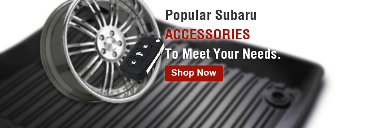 Popular Subaru accessories to meet your needs